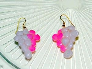 DIY-easy silicon earrings
