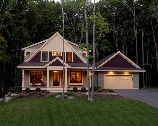 Traditional Country Home, simple. | Houses I liketo