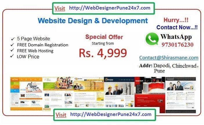 Website Design Rs 4999 Free Domain Free Hosting Whatsup No 9730176230 Http Www Webdesignerspune24x7 Com Wedding Planner Website Web Hosting Website Design