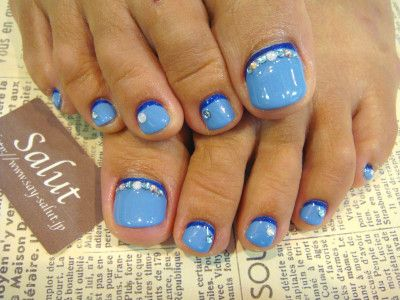 1000 ideas about blue toe nails on pinterest blue toes