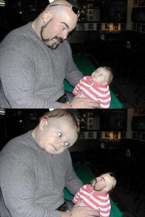Baby Face Swaps 1: this is so creepy but I laughed so hard