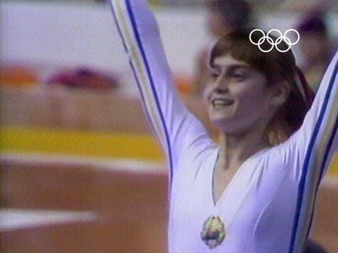 First perfect ten - Nadia Comaneci - Montreal 1976 Olympic Games - video montage