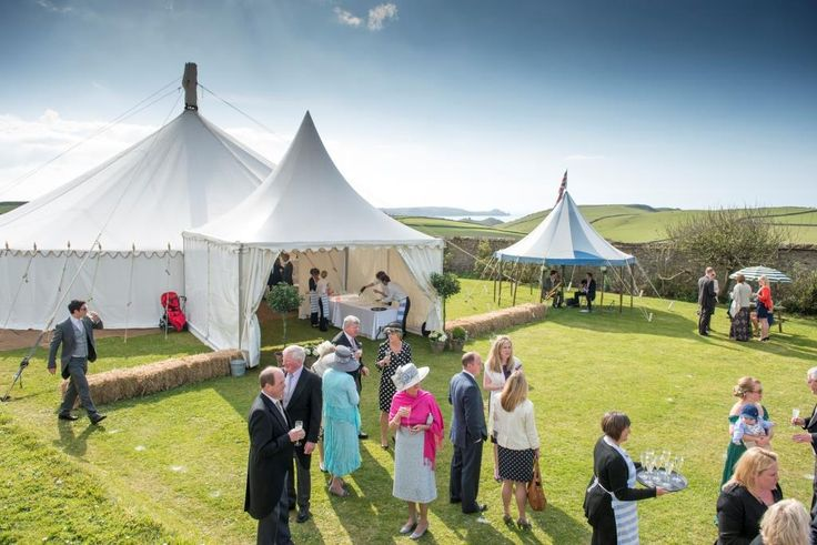 Our traditional circular tent with top hat.