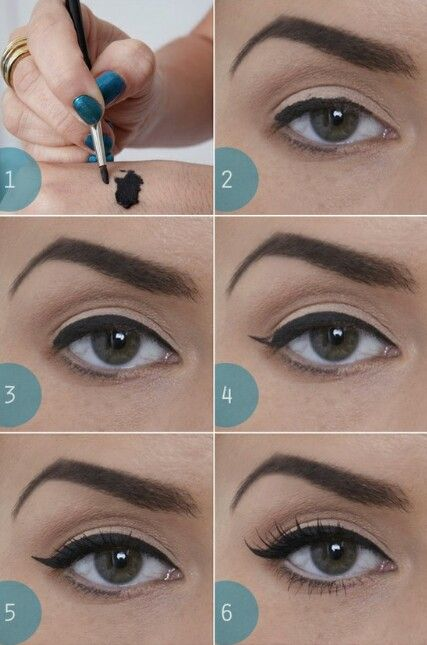 The Perfect Cat Eye Flick