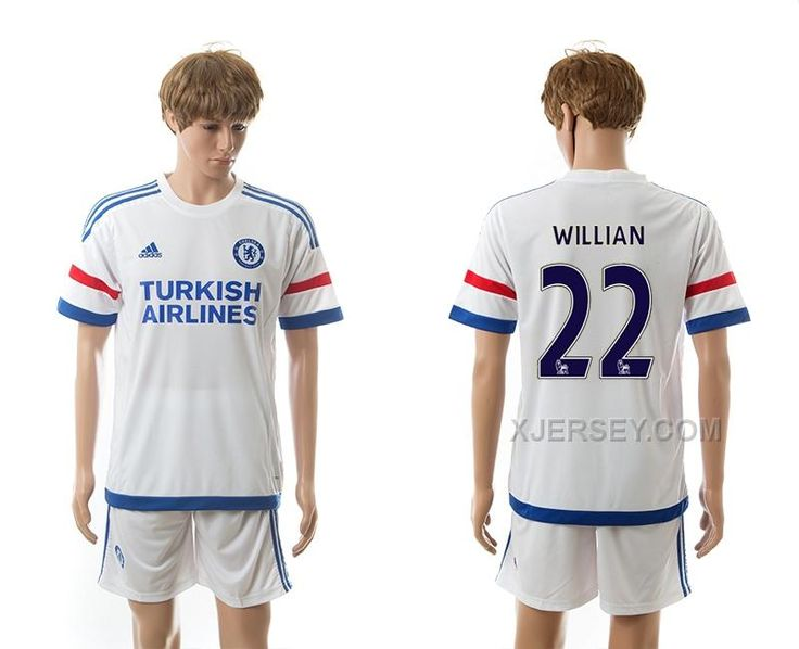 http://www.xjersey.com/201516-chelsea-22-willian-away-jerseys.html 2015-16 CHELSEA 22 WILLIAN AWAY JERSEYS Only $35.00 , Free Shipping!