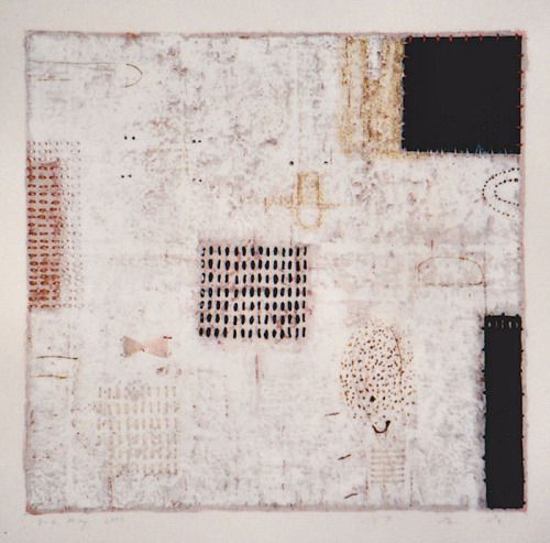 "takahikohayashi: "" D-6.May.2000 mixed media painting on paper HAYASHI Takahiko 林孝彦 """
