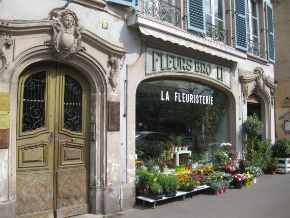 Цветочный магазин, Страсбург