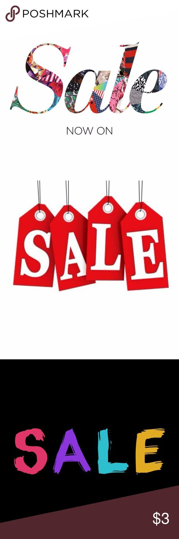 CURRENT SALES IN MY CLOSET -> -> The latest sales going on in my closet:  1. BOGO (buy 1 get 1 free) all kid's clothing, shoes & accessories (up to 3 free)  2. BOGO men's polo shirts (buy 1 get 1 for $1)  3. Purchase 3+ items & receive 10% off your total purchase  4. Bundle your likes for a private discount (no minimum)  If you have any questions, please feel free to comment below.   Thanks for shopping my closet @cjrose25!! Various Shoes
