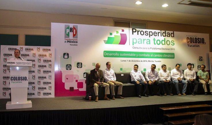 PRI Convoca a Participación Ciudadana en Materia de desarrollo Sustentable