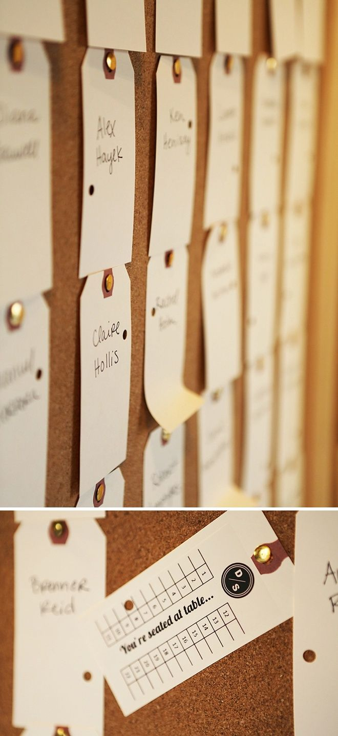 154 best wedding stationery seating plan images on pinterest unique and easy printed and punched diy escort cards solutioingenieria Gallery