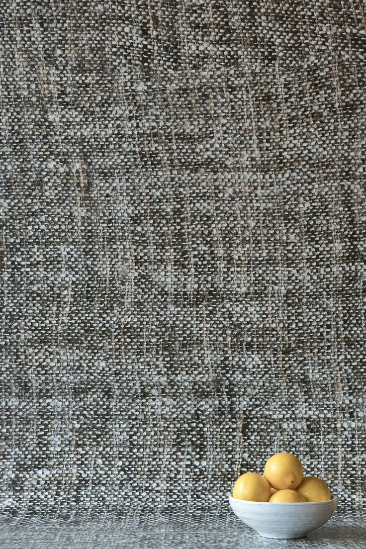 Dark Grey Tricot Wallpaper by WYNIL. The timeless feel of weaves in your home or office. Super easy installation, worldwide shipping :)