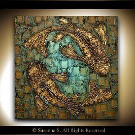 Abstract Art- Original Abstract paintings and modern art by pallete knife artist Susanna Shap | ModernHouseArt | Stroudsburg, PA