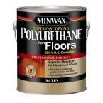 Minwax 1 gal. Satin Super Fast-Drying Polyurethane for Floors (2-Pack)
