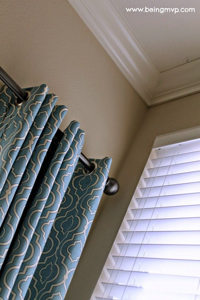 Vertical Blinds Arenu0027t Your Only Option! Blackout Drapes In Pretty Fabric  Block Glare