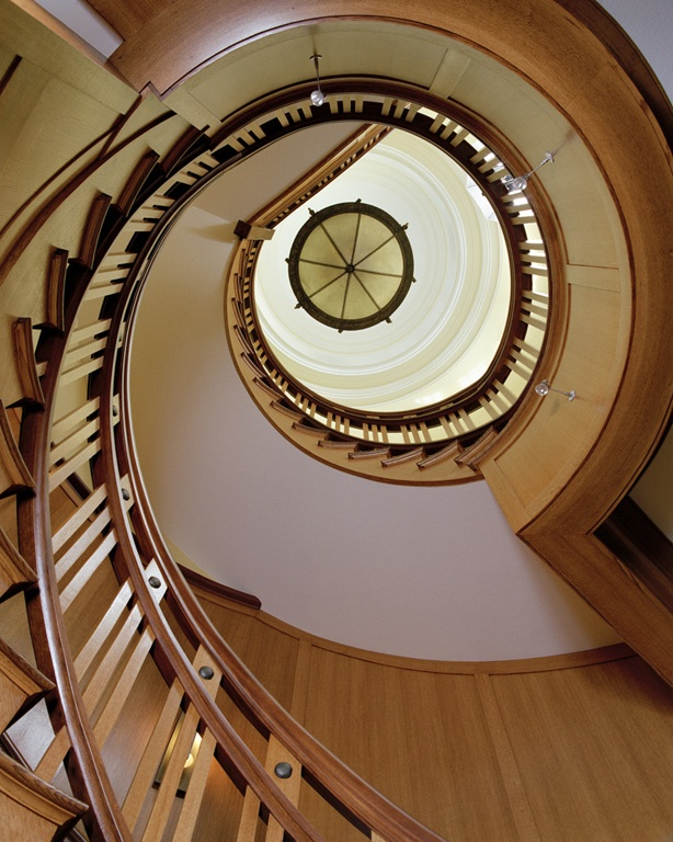 stair - Wolfeboro Lakeside Manor | TMS Architects