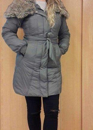Kup mój przedmiot na #vintedpl http://www.vinted.pl/damska-odziez/kurtki/15858608-kurtka-carry-futrzany-kolnierz-m-38-zimowa-puchowa