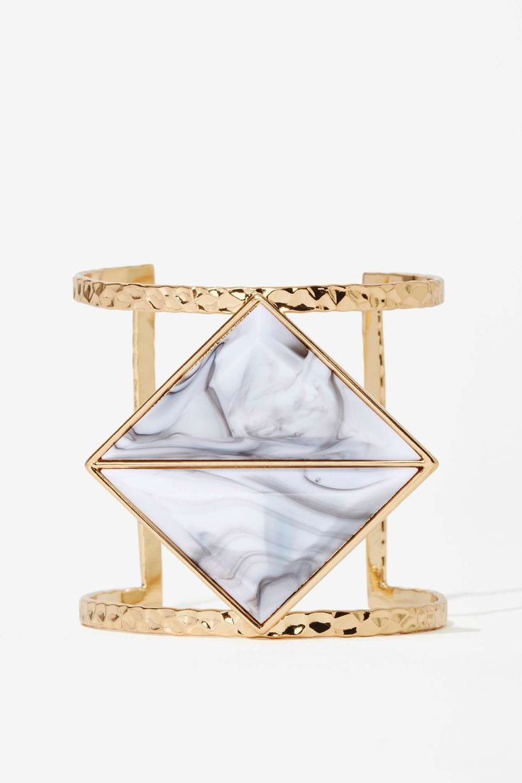 Isliana Howlite Cuff | Shop Jewelry at Nasty Gal