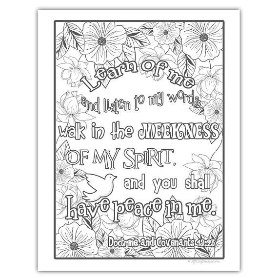 Package Of All Four 2018 Mutual Theme Coloring Pages 8 5 X11