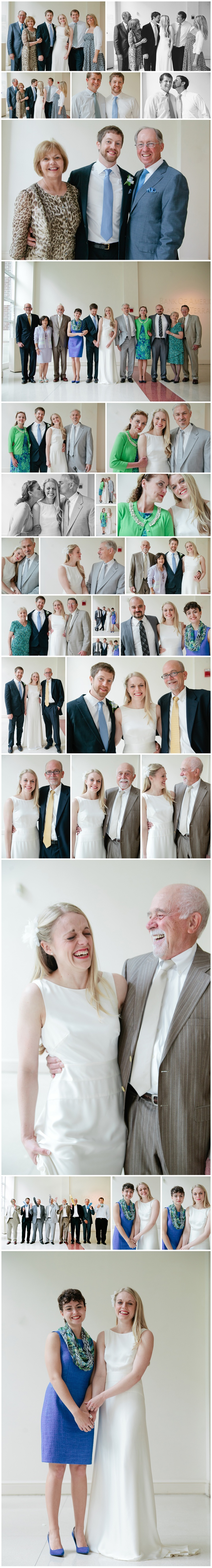 Wedding family portraits by Micah Hewett Images