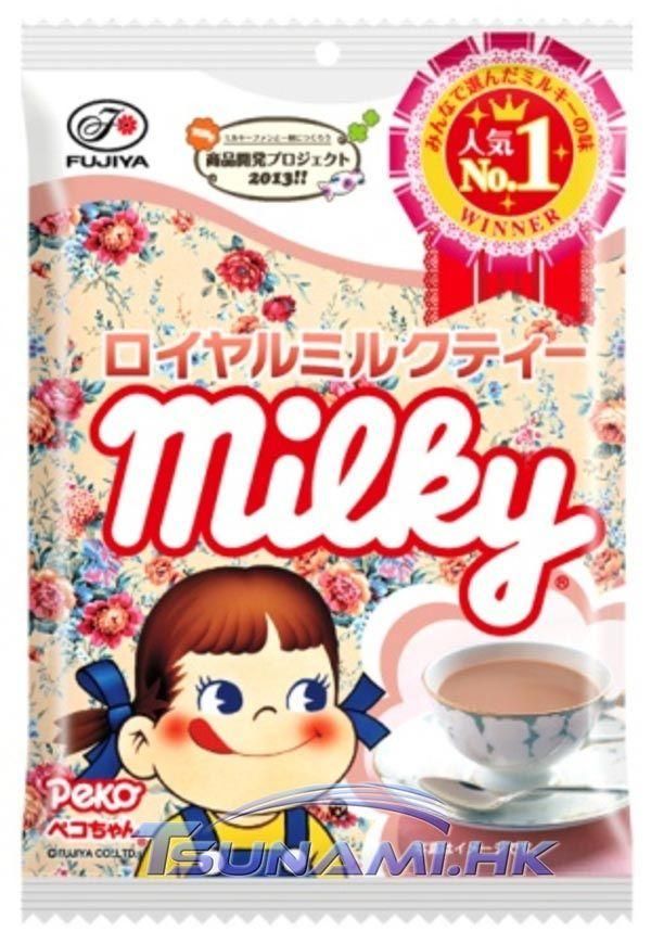 Fujiya Peko Chan Milky Milk Tea Cream Soft Candy