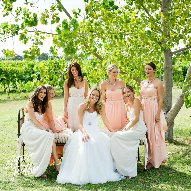 Bride and bridesmaids // MATCH + FEATHER
