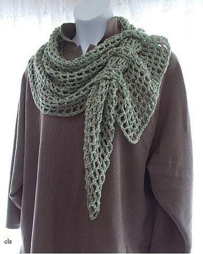 Ravelry: Filet Mesh Scarf pattern by Copper Llama Studio