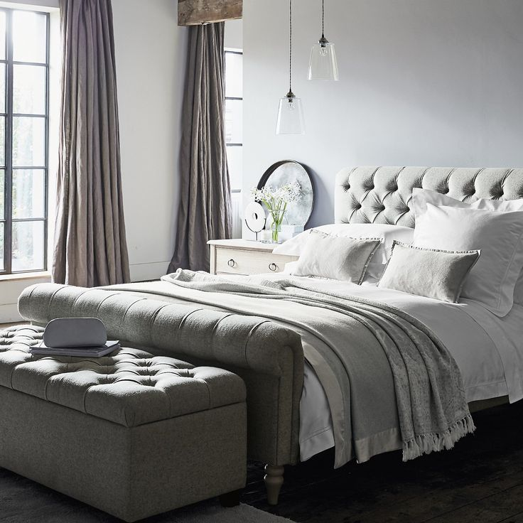 Symons Bed Linen Collection   Bed Linen   Bedroom   The White Company UK