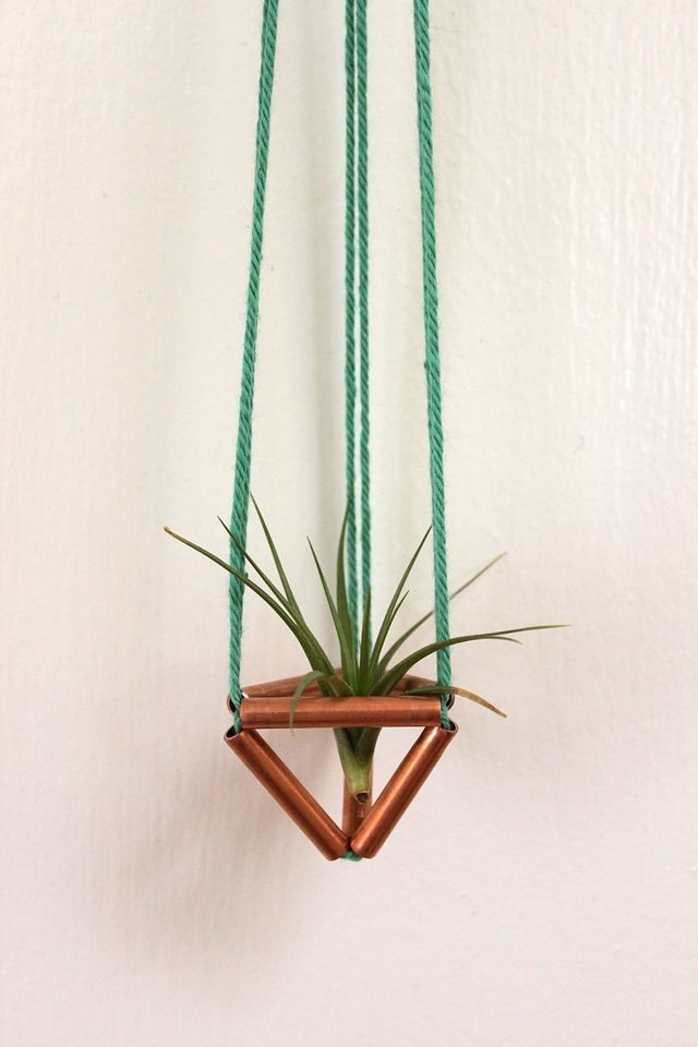 Tiny Himmeli Air Plant Holder on Smile and Wave. #indoorgarden