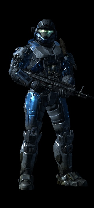 My Spartan from Halo: Reach