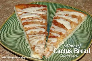 Copy-cat recipe:  Pizza Ranch's Cactus Bread (dessert pizza)