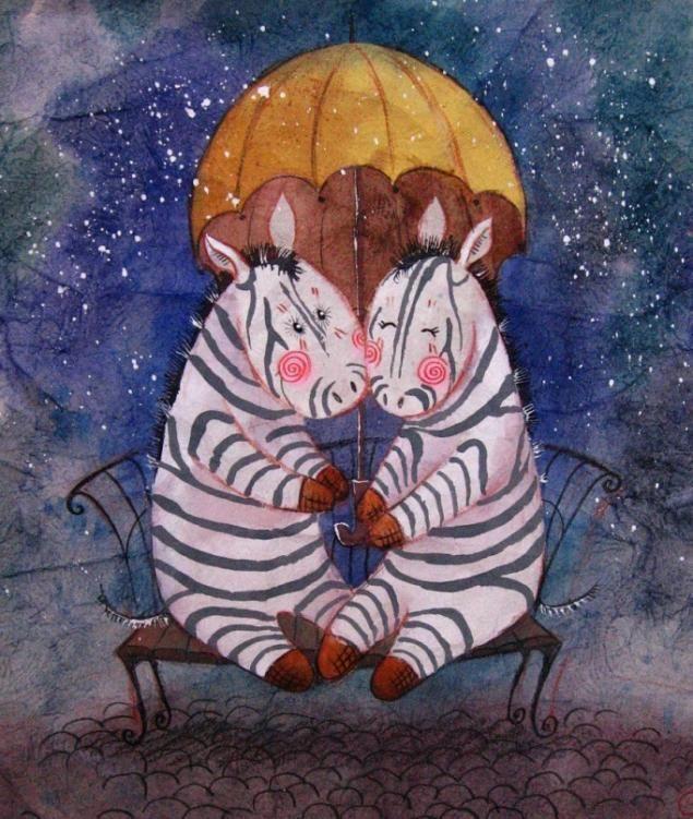 Акварельные иллюстрации Анастасии Столбовой. - Ярмарка Мастеров - ручная работа, handmade