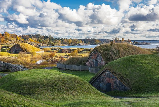 Suomenlinna in Finland looks like a pretty cool destination for summer travel!