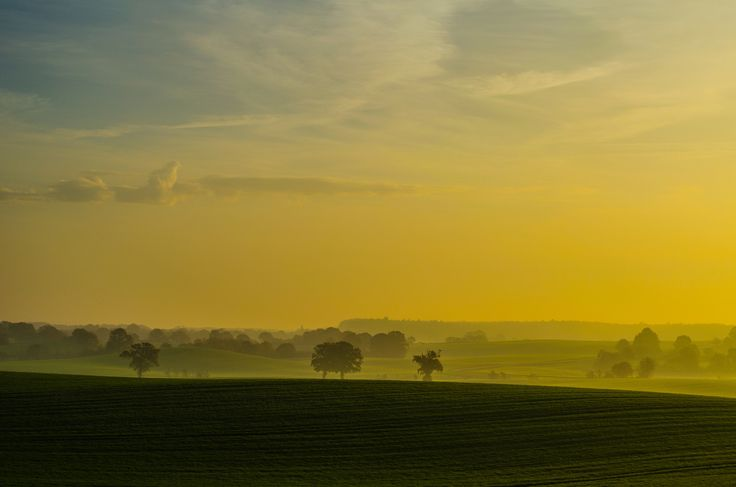 Countyside Sunrise II by Jens Krüßmann on 500px