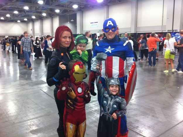 The Avengers Family | 18 Families That Prove The Family That Cosplays Together, Stays Together