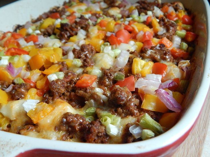 Taco fiesta bubble up casserole by drizzle me skinny