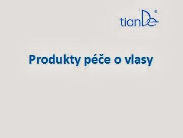 Přírodní kosmetika TianDe: O jednotlivých produktech - péče o vlasy