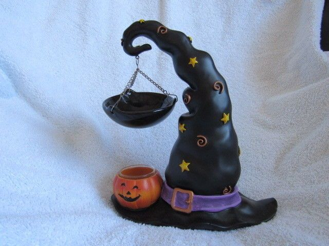 Yankee Candle Halloween Witch Hat Tart Warmer Burner