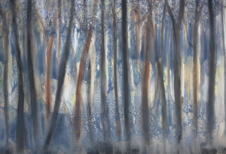 Sharon Sampson Passages of Light Mixed media on canvas (98cm x 60cm)