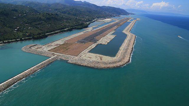 Avrupa ve Türkiyenin deniz üzerine kurulan ilk havalimanı özelliği  taşıyan Ordu-Giresun Havalimanını kullanan yolcu sayısının