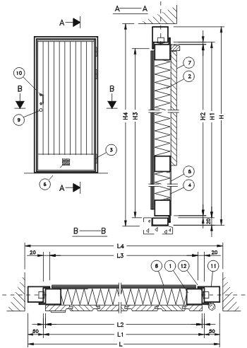 двери для склада и гаражные двери