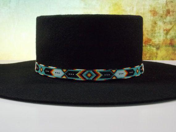 Banda nativo americano sombrero moldeado en un por LJGreywolf