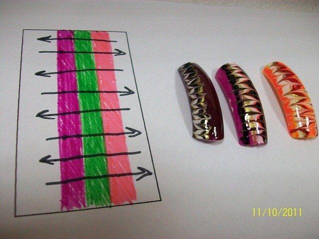 Идеи маникюра ч.2: всё сложно (трафик) / Макияж/Маникюр / Своими руками - выкройки, переделка одежды, декор интерьера своими руками - от ВТОРАЯ УЛИЦА