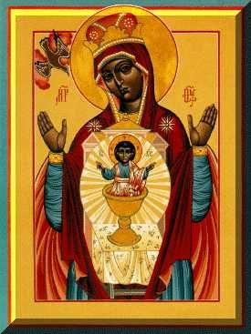 St Luke's black madonna