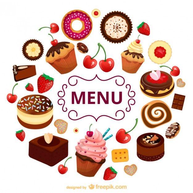 Selección de más de cien recursos gratuitos para restaurantes como vectores…