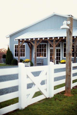 The Party Barn via Garden & Gun / The English Room Blog