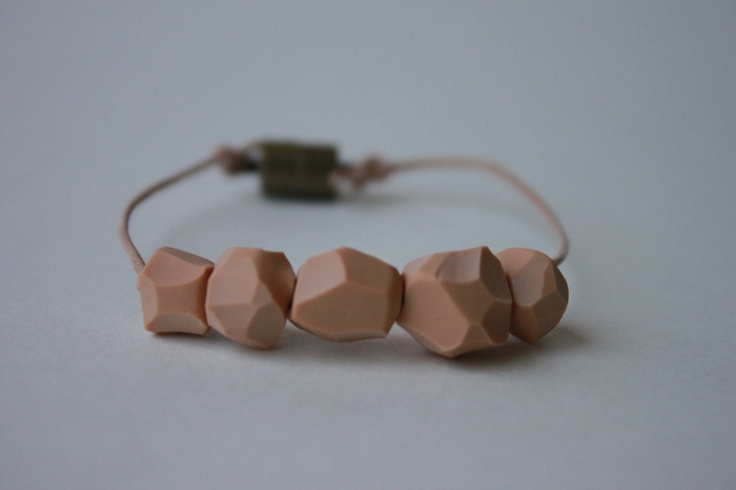 polymer clay beads #jewelry #bracelet