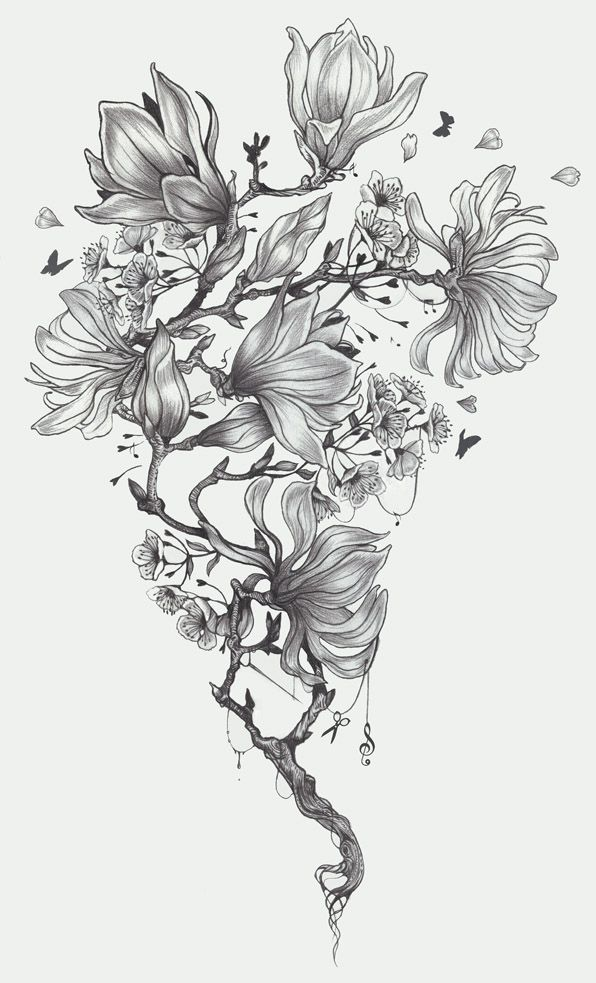 Tattoo Sleeve Design Artwork: 44 Best Amazing Tattoo Drawings On Paper Images On