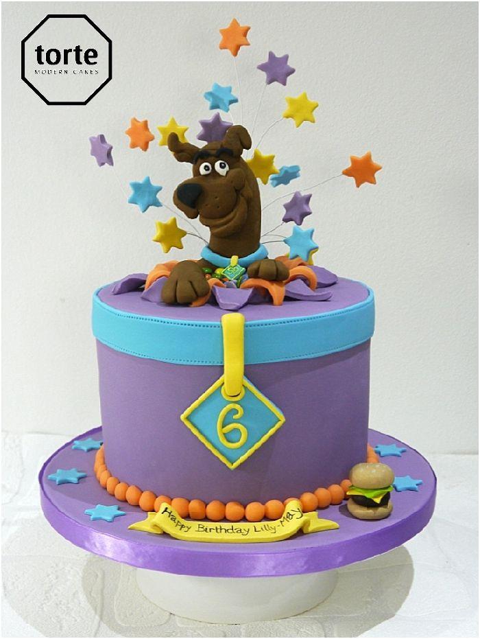 Scooby Doo birthday cake #birthday #cake #Scoobydoo #starburst