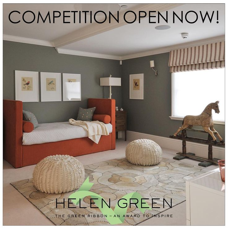 The Green Ribbon Award competition is back for its second year! Design the coolest kid's room in the world. Enter to win £250 prize money! Follow the link in our bio to find out more information. #greenribbonaward #hgdstudio #kidsroom #competition #interiordesign #interiorinspiration #creativity #design #schoolcompetition #nextgenerationofdesigners #getcreative #inchbaldschoolofdesign #designcentrelondon #houseandgarden