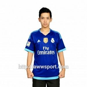 Jual jersey Real Madrid WCC 2015 Baju Bola Real Madrid Away 2015 Baju Rela Madrid Terbaru